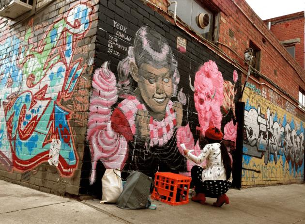 表現の場graffiti