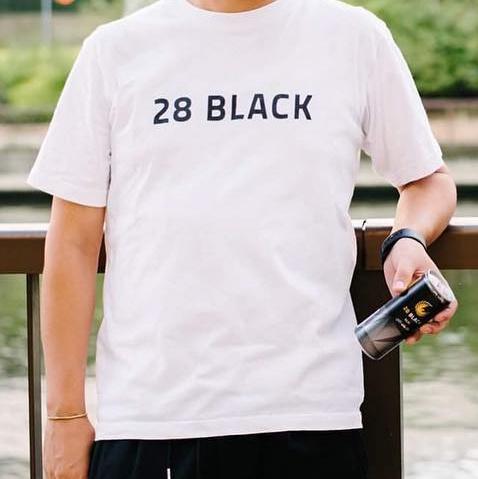 28black Tシャツ WHITE